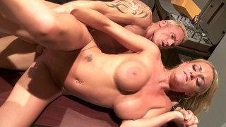 Paige Ashley rammed hard at the office