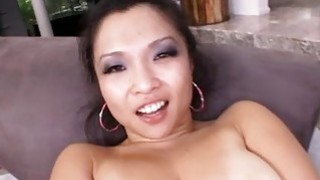 Babe charms with her fuck and soaked fellatio