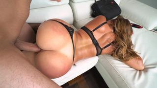 Big ass tart Julianna Vega getting her juicy cunt stuffed with fat cock