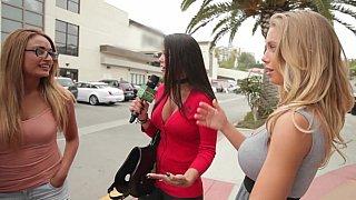 Money Talks with Nicole Aniston in Dildo Mask