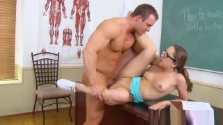 Stunning schoolgirl Remy LaCroix Likes It