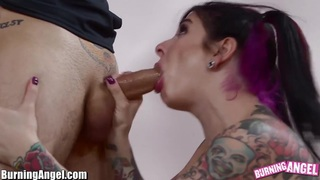 BurningAngel Emo Cheerleader Ass Fucked