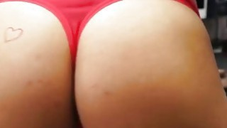 Big tits coed gets fucked by horny pawn dude at the pawnshop