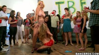 Another dorm taken over by BangBros classy sluts